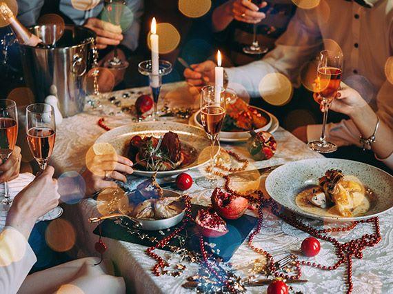 festive brunch buffet
