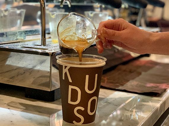kudos coffee